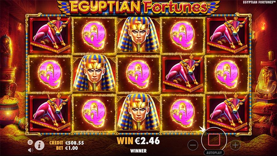 Egyptian Fortunes Freispiele Vorschau